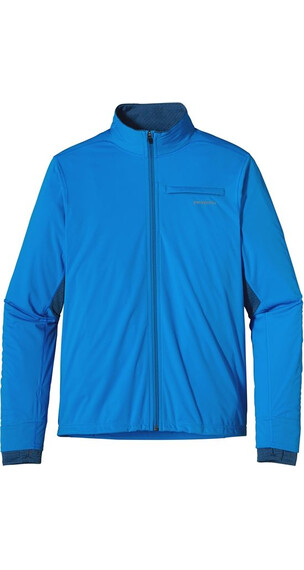 Patagonia M's Wind Shield Hybrid Soft Shell Jacket Andes Blue